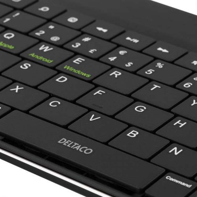 DELTACO Fodral med löstagbart tangentbord för 10